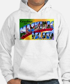 Mackinac Island Michigan (Front) Hoodie