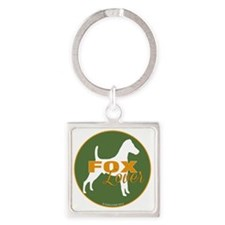 FoxLover Square Keychain