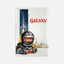 Galaxy scifi vintage mug Rectangle Magnet
