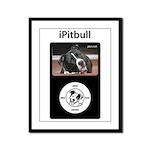 iPitbull Framed Panel Print