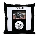 iPitbull Throw Pillow