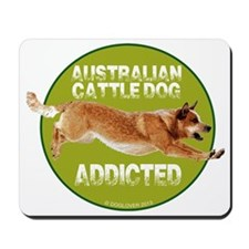 red ACD addicted Mousepad