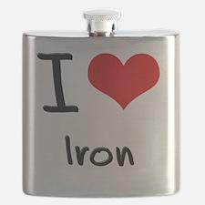 I Love Iron Flask