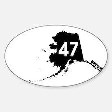 AK47 Sticker (Oval)