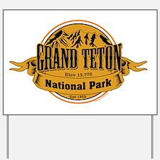Grand Teton, Wyoming Yard Sign