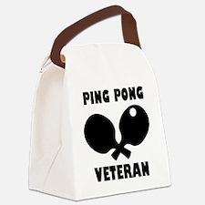 Sport veteran Canvas Lunch Bag