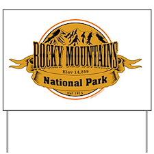 Rocky Mountains, Colorado Yard Sign