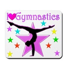 DAZZLING GYMNAST Mousepad
