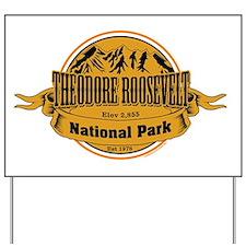 Theodore Roosevelt , North Dakota Yard Sign