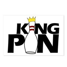 king pin Postcards (Package of 8)