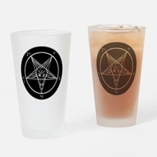 Baphonet Pentacle Drinking Glass