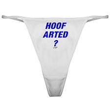 Hoof Arted Classic Thong