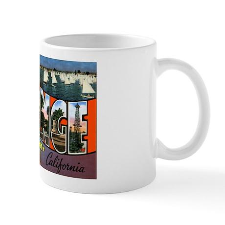 Orange County California Mug