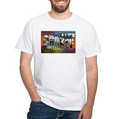 Orange County California (Front) White T-Shirt