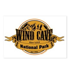 Wind Cave South Dakota Postcards (Package of 8)