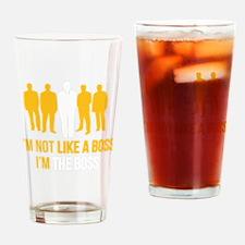 likeTheBoss4F Drinking Glass