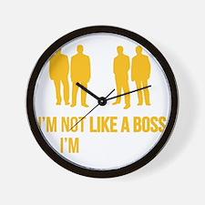 likeTheBoss4F Wall Clock