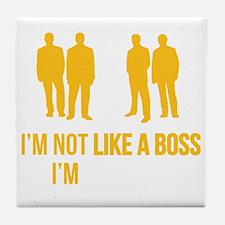 likeTheBoss4F Tile Coaster