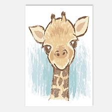 Sweet Giraffe Postcards (Package of 8)