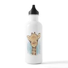 Sweet Giraffe Sports Water Bottle