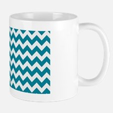 Chevron Teal Mug