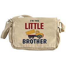 Little Brother Dump Truck Messenger Bag