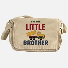 Little Brother Dump Truck Messenger Bag