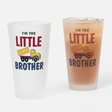 Little Brother Dump Truck Drinking Glass