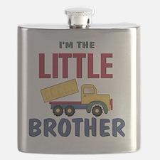 Little Brother Dump Truck Flask