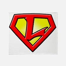 Super_L Throw Blanket