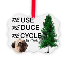 Re Think Ornament