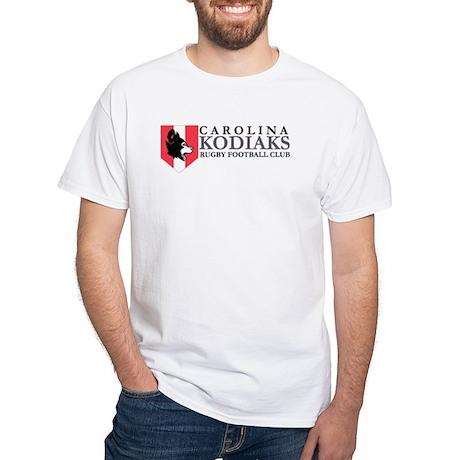 Kodiaks Basic White T-Shirt