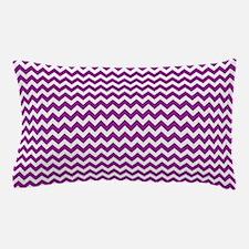 Chevron Purple Pillow Case