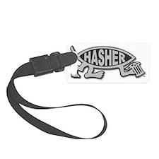 HashFish - Hasher - BW Luggage Tag