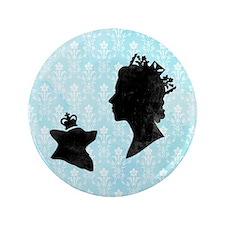 """Queen and Corgi 3.5"""" Button"""