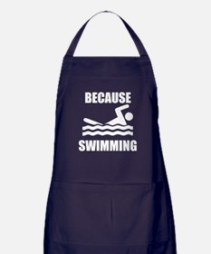 Because Swimming Apron (dark)