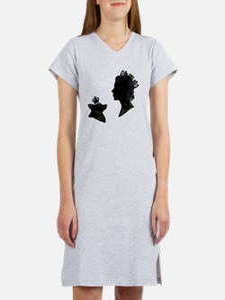 Queen and Corgi Women's Nightshirt