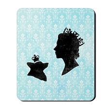 Queen and Corgi Mousepad
