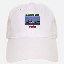 la dolce vita Venice italy. Baseball Baseball Cap