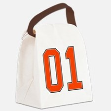 01 General Lee Dukes of Hazzard C Canvas Lunch Bag