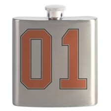 01 General Lee Dukes of Hazzard Car number Flask