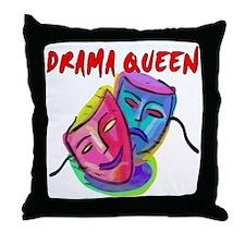 Drama Queen Throw Pillow