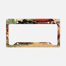 Tea Ceremony License Plate Holder
