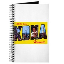 Kona Hawaii Greetings Journal