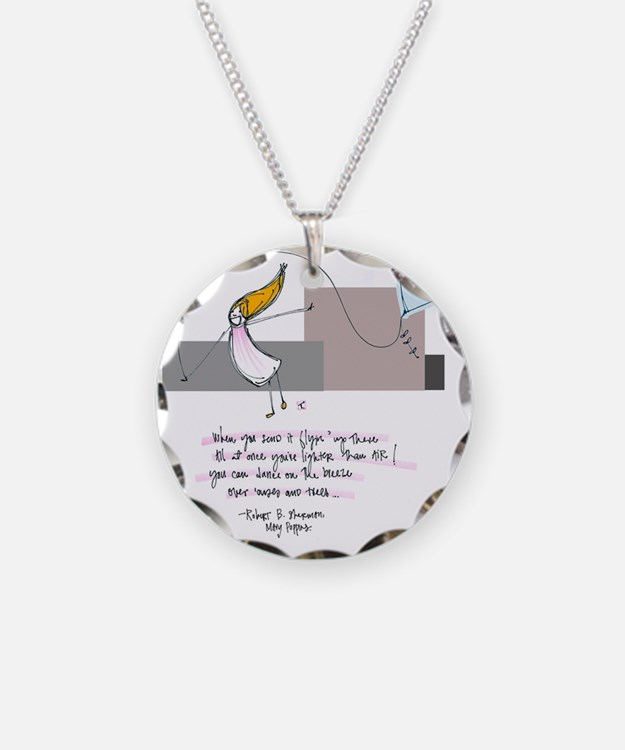 Up Where the Air is Clear Necklace