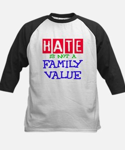 NO HATE Kids Baseball Jersey