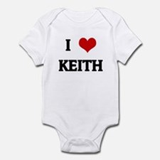 I Love KEITH Infant Bodysuit
