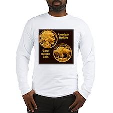 American Buffalo Gold Bullion  Long Sleeve T-Shirt