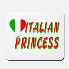 Italian Princess Mousepad