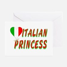 Italian Princess Greeting Cards (Pk of 10)